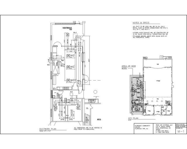 Autocad Shop Drawing Services Steve Paul L L C Nj