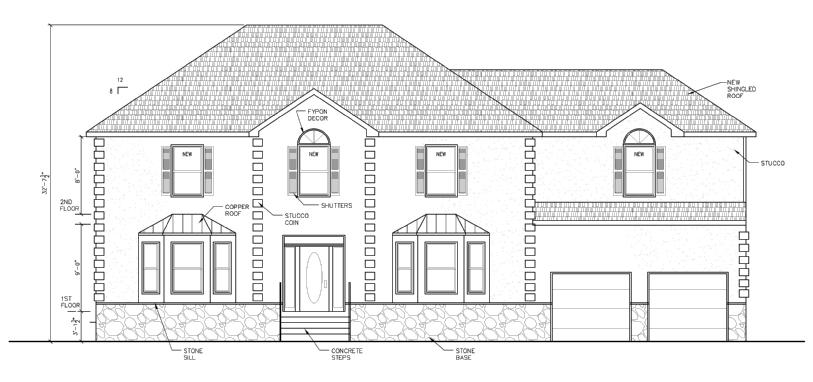 New Home Design in Philadelphia - Architectural Drafting Services