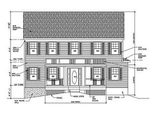 Drafting Design Services NJ- Haddonfield, New Jersey new remodeling proposed addition